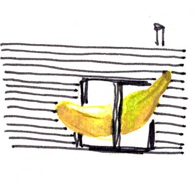 proč si nedát do interiéru banánek...