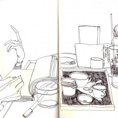 jsem často v kavárnách