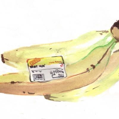 a tak nezůstaneme jenom u fazolí a inspirujeme se Warholovými banány