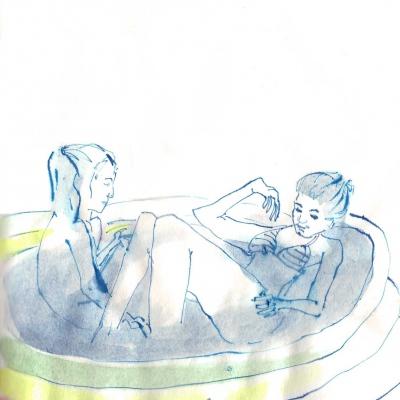 a když už je řeč o spoďárech, tak šup do bazénku