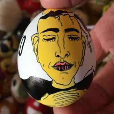 hlava pana Vajíčka